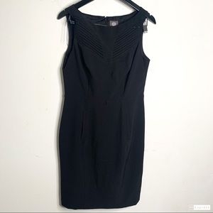 Vince Camuto 10 Black Sleeveless Career Wear Dress